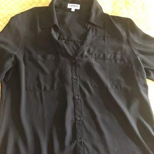 Express long sleeve dress shirt.